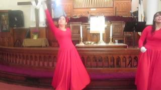gloria en lo alto pantomima-christine dclario