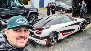 SOMEHOW I FOUND MYSELF IN A KOENIGSEGG AGERA RS! *DELIVERY DAY*