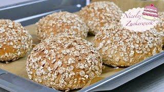 Dinkelbrötchen I Brot einfach selbst backen I lecker und gesund I Rezept von Nicoles Zuckerwerk