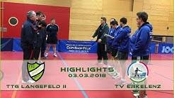 NRW Liga 3: TTG Langenfeld vs. TV Erkelenz | Spielhighlights
