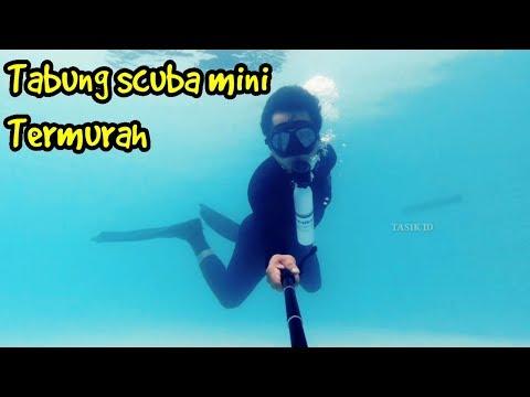 Review Tabung Scuba Mini Termurah