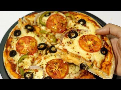 Dominos Style Cheese Burst Pizza Recipe || একদম দোকানের মতো পিৎজা তৈরী করার বিধি || Bengali Pizza