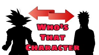 Who's That Anime Character? (Guess the Anime Character Challenge)
