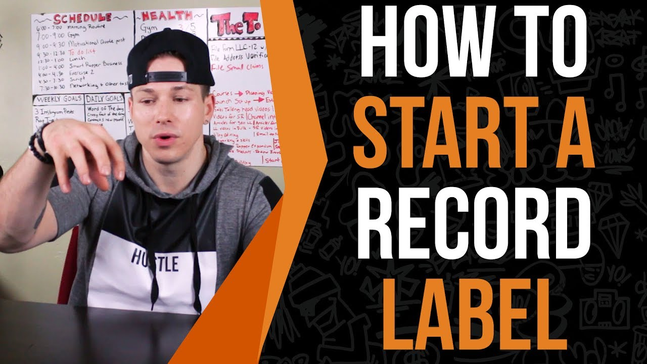 how to become a record label