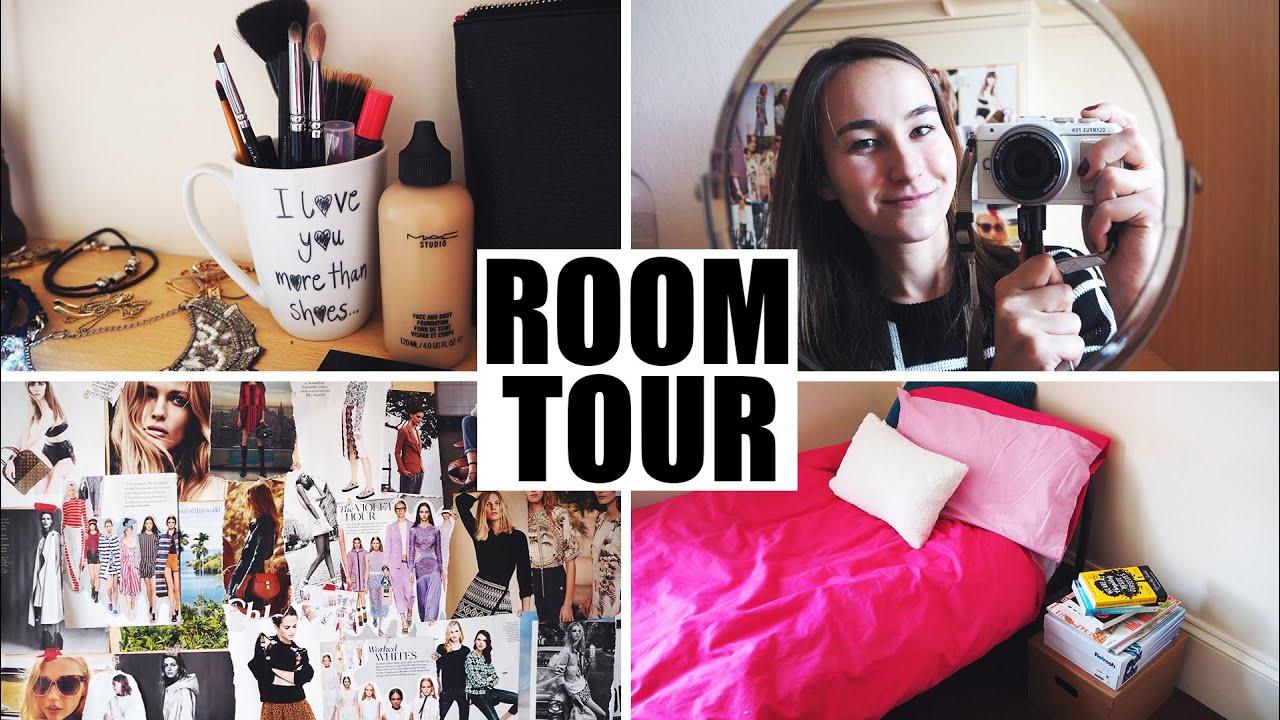 Room Tour | Můj pokoj na koleji v Anglii!