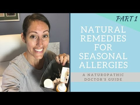 🤧 How to Treat Seasonal Allergies, Hay Fever & Sinus Allergy Symptoms Naturally
