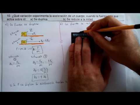 10. APLICACIÓN DE LA SEGUNDA LEY DE NEWTON. F=m a