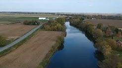 Rivière Yamaska, St-Damase QC