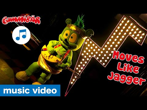"gummibär---""moves-like-jagger""-music-video---the-gummy-bear-cover-song---party-pop"