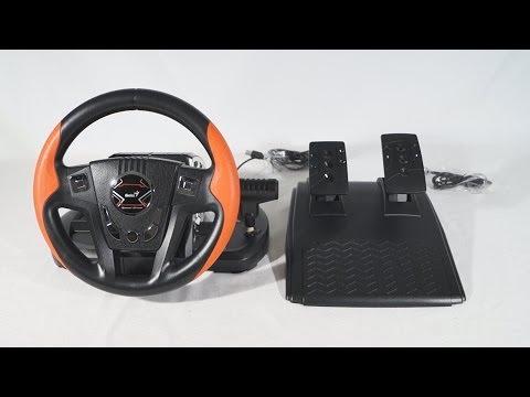 #1543 - Genius Speed Wheel 6 MT Gaming Racing Wheel Video Review