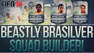 Jobson & Wallyson! 200k Amazing Brasilver Squad Builder! FIFA 14 Ultimate Team