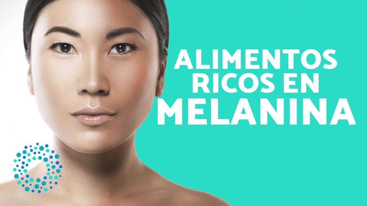 alimentos naturales con melanina
