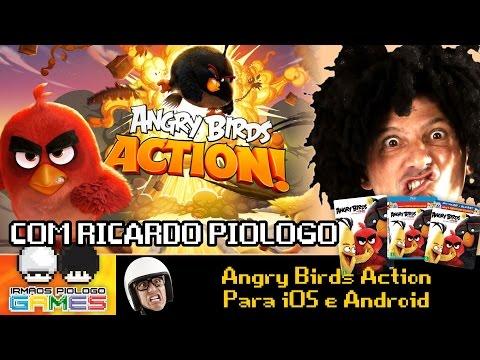 Angry Birds Action - Gameplay/Live com os Irmãos Piologo