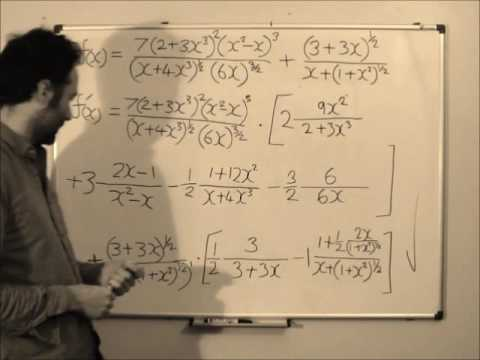 Feynman's Quick Method of Differentiation