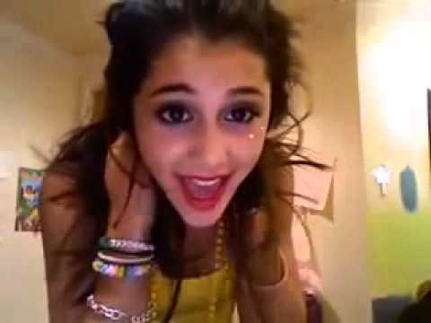 Ariana grande old school video