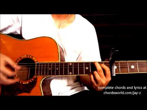 "Holy Grail Chords ""Jay-Z"" ChordsWorld Guitar Tutorial"