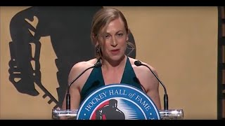 Jayna Hefford Hockey Hall of Fame Induction Speech (2018)