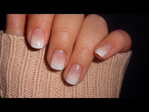 Shellac Babyboomer Auf Natur Nägeln Tutorial Natural Nails White Grant Gel Polish