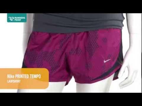 Damen Laufhose Nike Printed Tempo Laufshort