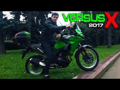 Kawasaki VERSYS X (300) 2017 - Турэндуро для новичка | ЭКСКЛЮЗИВНЫЙ Обзор и Тест-Драйв