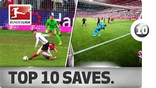 Best Saves of 2016/17 So Far ... - Manuel Neuer, Timo Horn & Co.