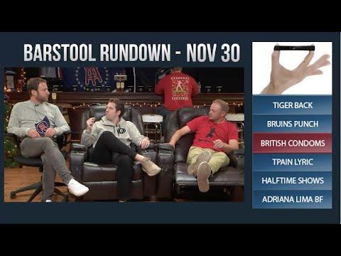 Barstool Rundown - November 30, 2017