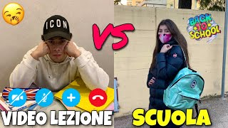 A SCUOLA VS IN VIDEO LEZIONE - DIFFERENZE