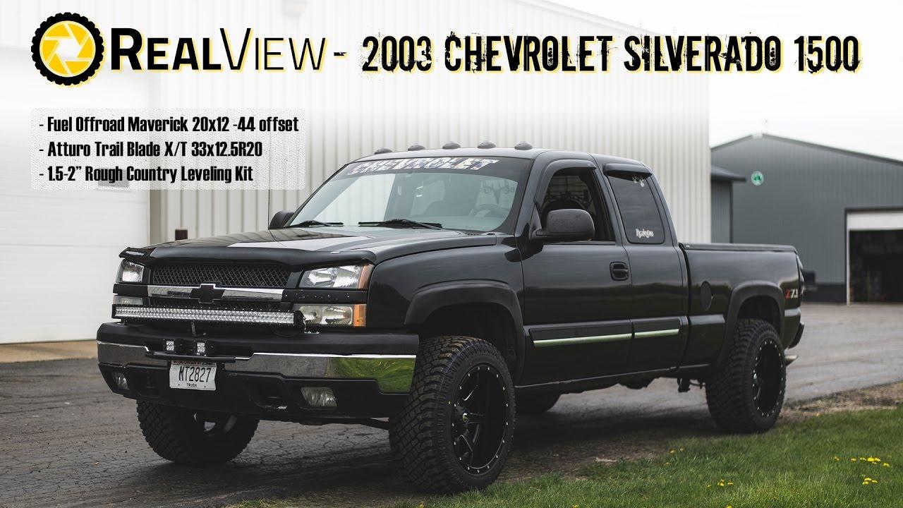 """2017 Silverado Single Cab >> RealView - Leveled 2003 Chevy Silverado 1500 w/ 20"""" Fuel"""