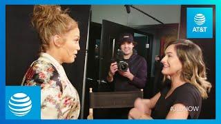 Jennifer Lopez SURPRISES SUPERFAN Chachi Gonzales | #JLoNOW | AT&T