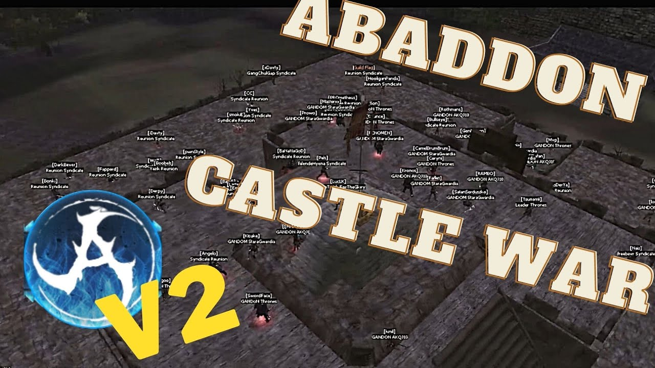 Kalonline Castle War Abaddon V2 27.12.2020 - First V2 Castle War on the server!