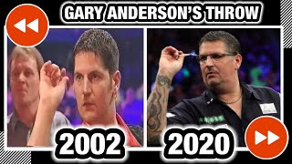 GARY ANDERSON'S THROW | ROĻLING BACK THE YEARS