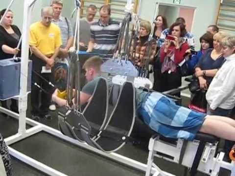 """видео: Тренажер максимальной нагрузки, имитирующий состояние пловца в воде с комплексом """"АРТ-3"""""""