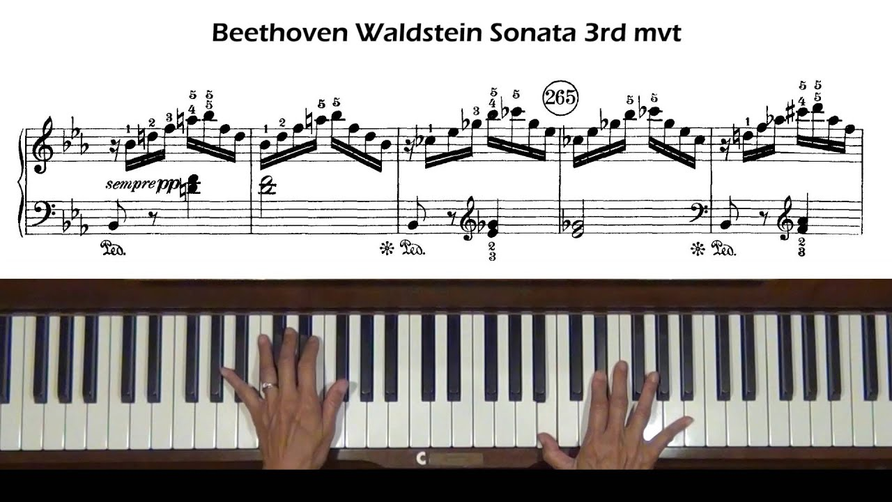 Beethoven Waldsteinsonate