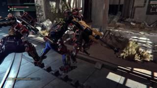 The Surge - Rocketyard: LYNX Zombie Workers Combat, AStir Vibro-Cutter, Overcharge, Open Shortcut