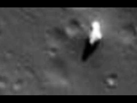 Oggetto Alieno filmato da Lunar Orbiter - VIDEO
