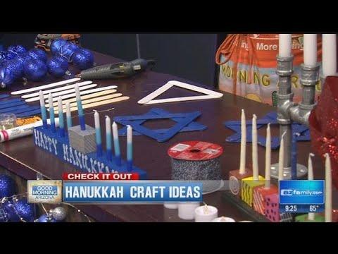 Home Depot Debbie Hanukkah Craft Ideas Youtube