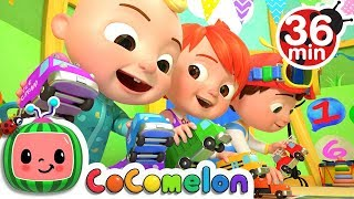 The Car Color Song | +More Nursery Rhymes & Kids Songs - CoCoMelon thumbnail