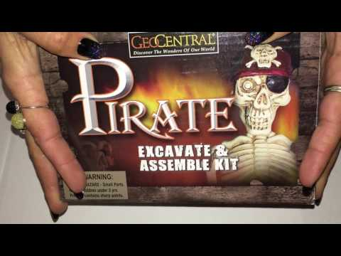 ASMR PIRATE EXCAVATION AND ASSEMBLE KIT Part 1