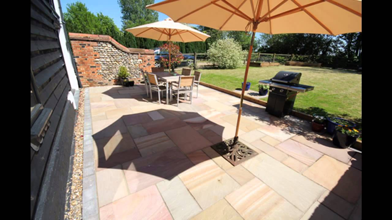 Garden paving decorations ideas - YouTube