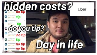 Day in the life of an uber driver (How much I earn early morning)
