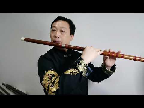 Bass G Key Dizi Practice 《Wu Ji》