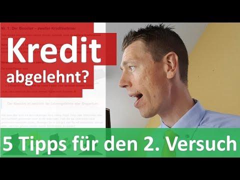 Kredit Abgelehnt? ► 5 Tipps Für Den 2. Versuch :)