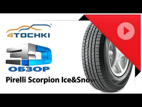 3D-обзор шины Pirelli Scorpion Ice&Snow