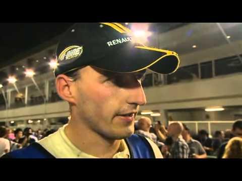 2010 Singapore GP Interactive Forum Robert Kubica