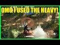 Star Wars Battlefront 2 - OMG I used the heavy class! Best heavy gun FWMB-10K (Kylo Ren)