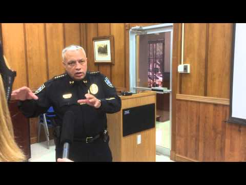 Chief Lumpkin's First 60 Days Interview