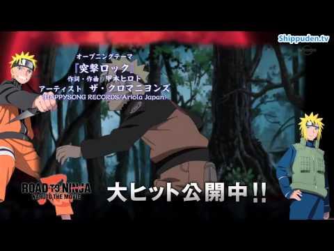 11 Opening Naruto Shippuden Totsugeki Rock -- Artista The Cro Magnons  version 2