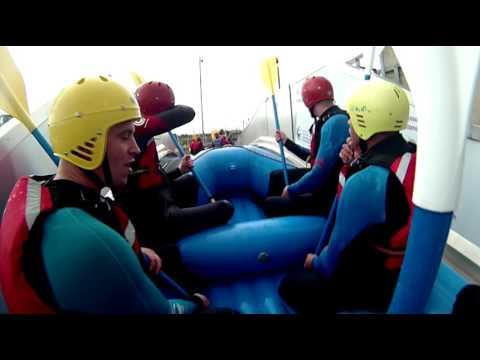white water rafting at Cardiff international