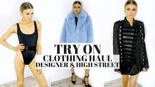 TRY ON HAUL | FT. OH POLLY, KOURTNEY KARDASHIAN COLLECTION, ASOS ETC.