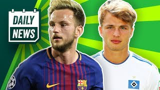 FC Bayern: Lewandowski bleibt! Kommt jetzt auch noch Pavard? Barca hält Rakitic! Amrabat zu Mainz?